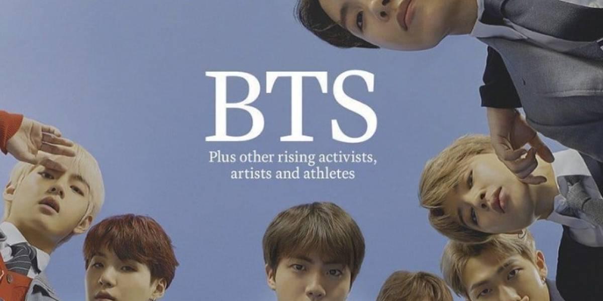 K-pop: Grupo BTS é capa da revista americana Time