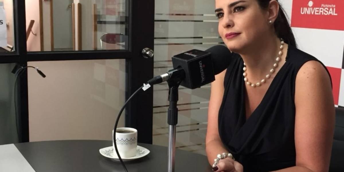 Paola Vintimilla propuso quitar sueldo vitalicio a exmandatarios condenados por corrupción