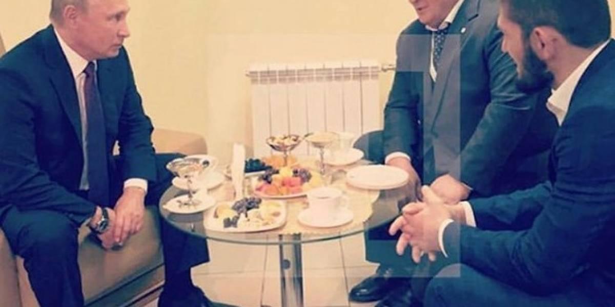 Vladimir Putin justificó a Khabib Nurmagomedov por su violenta reacción en la pelea ante McGregor