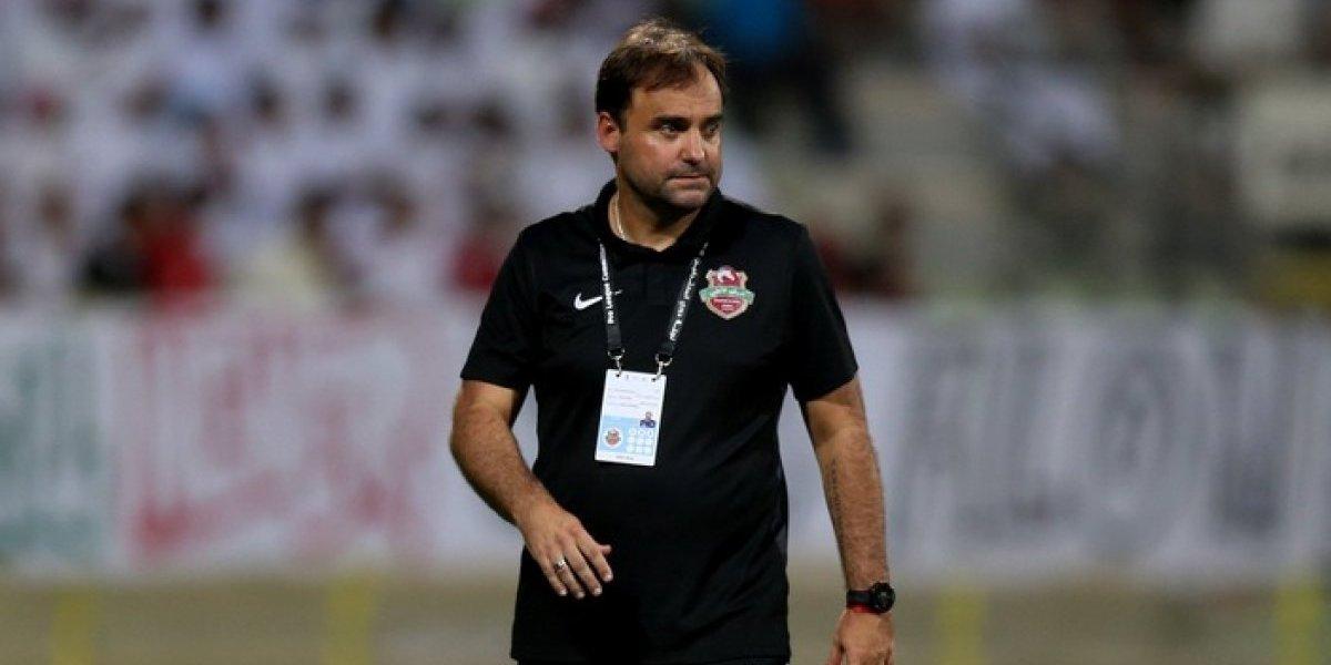José Luis Sierra fue despedido de su club en Emiratos Árabes Unidos tras sólo siete partidos