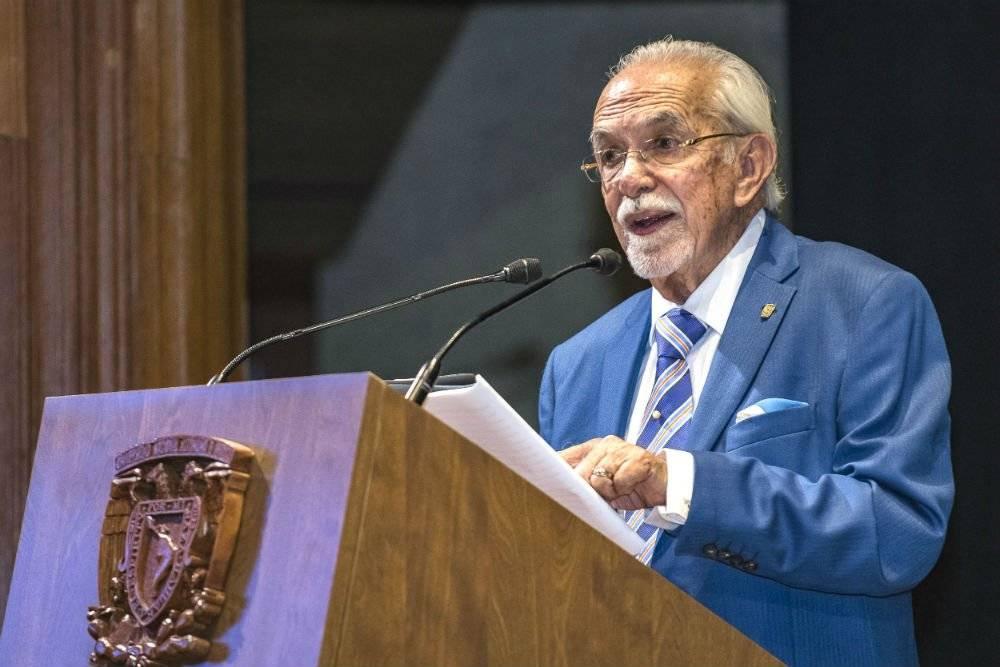 Víctor Carrancá, profesor emérito de la Facultad de Derecho de la UNAM Foto: Cortesía