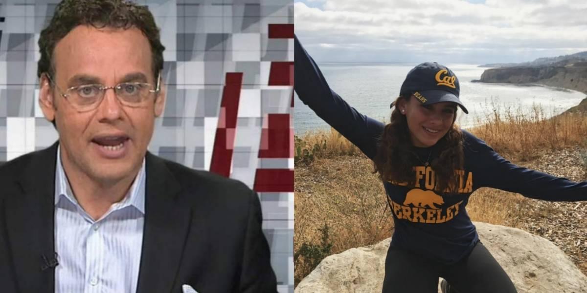 David Faitelson presume logro periodístico de su hija
