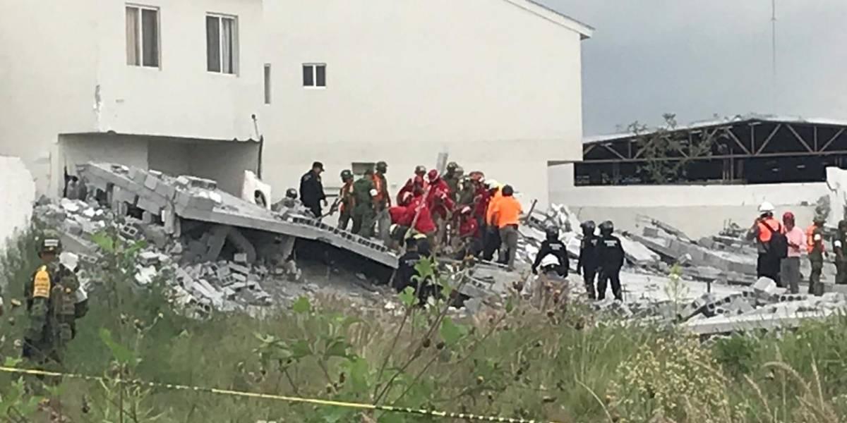Localizan último cuerpo en derrumbe de plaza comercial en Monterrey