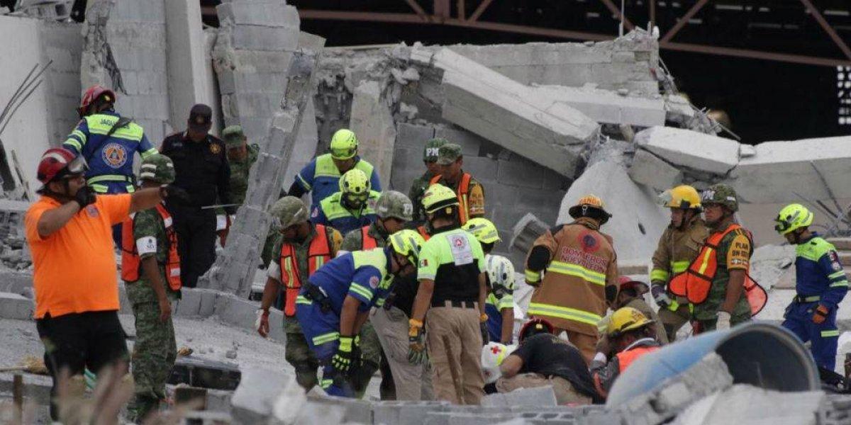 Dan a conocer lista de lesionados en derrumbe de Monterrey