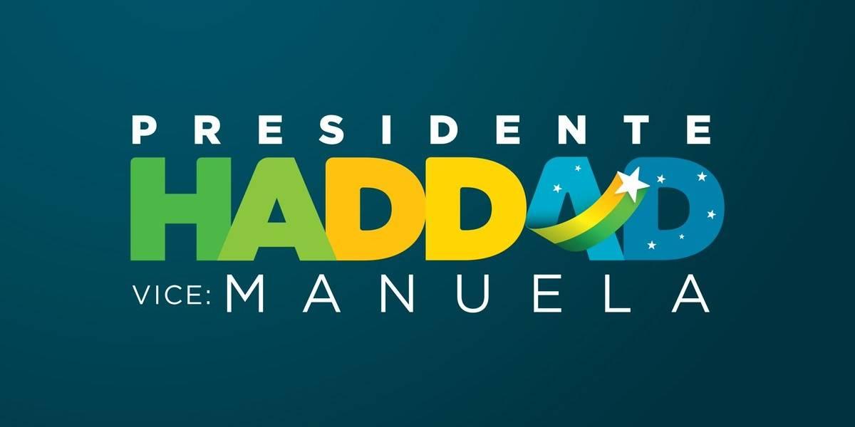 Haddad muda material de campanha e retira nome de Lula