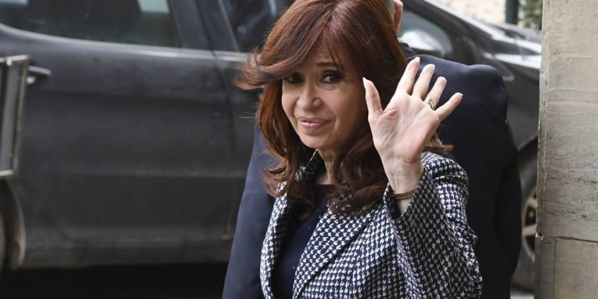 Fiscal pide detención de expresidenta Cristina Fernández
