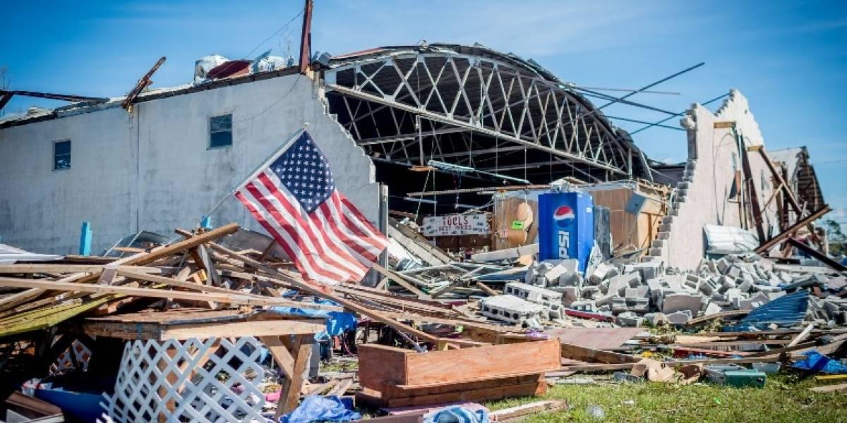 EN IMÁGENES. Así quedó la zona arrasada por el huracán Michael en Florida