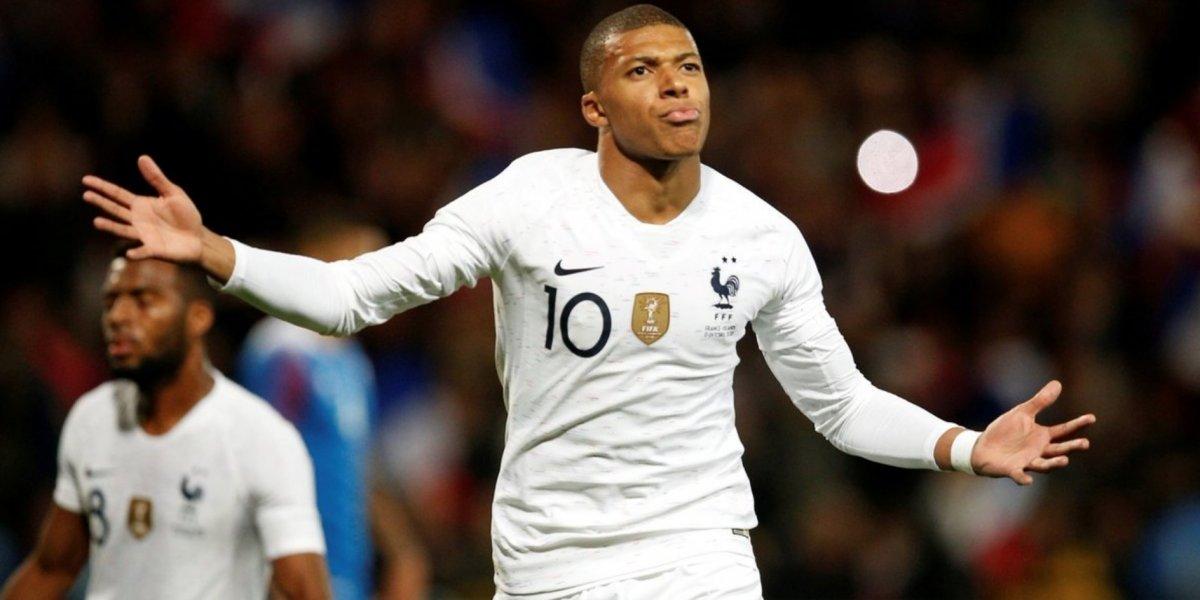 Mbappé se viste de héroe y salva a Francia de derrota ante Islandia