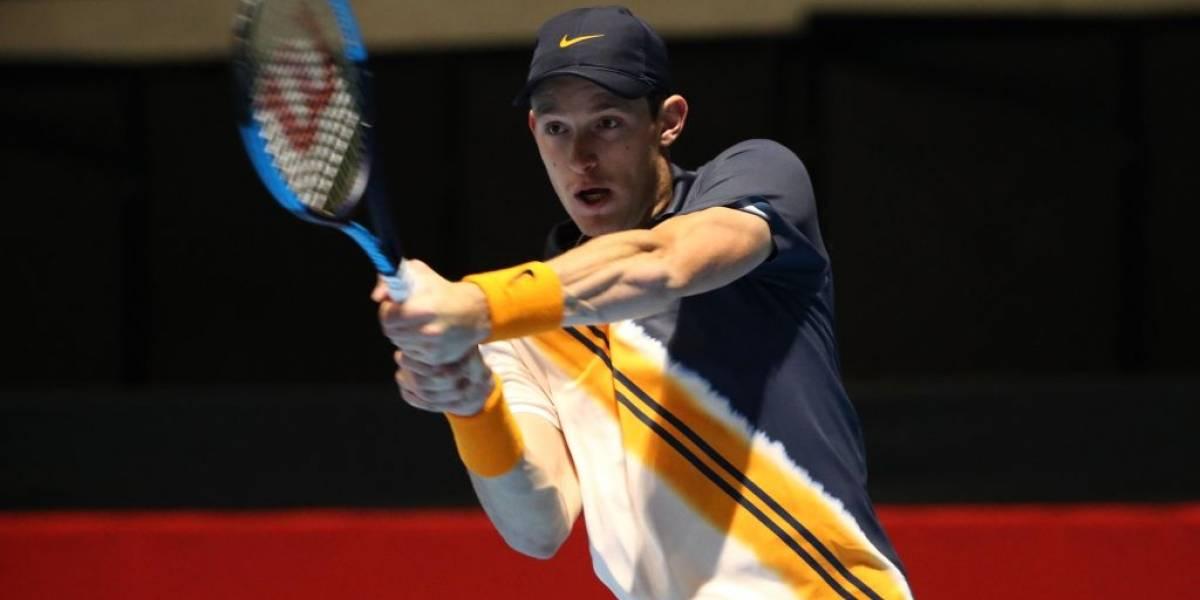 Nicolás Jarry acabó con su sueño en el Masters 1000 de Shanghai tras caer ante Kyle Edmund