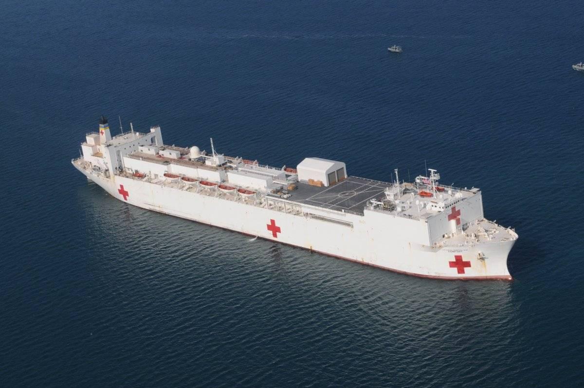 buque hospital