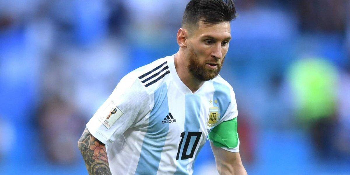Messi regresaría con Argentina para enfrentar a México en noviembre