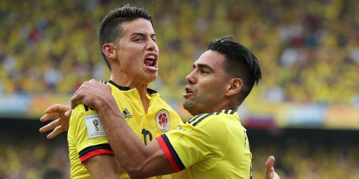 Colombia enfrenta a Estados Unidos, con el regreso de James a la Tricolor