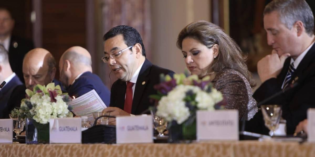 """Morales habla en Washington de """"injerencia internacional"""" en las cortes del país"""
