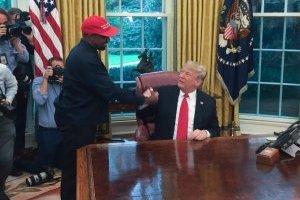 Kanye West y Donald Trump