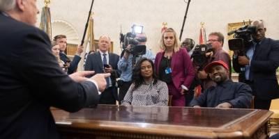 Keny West visitó a Donald Trump