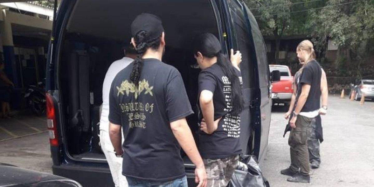 Teloneros de Marduk realizarán concierto programado para hoy