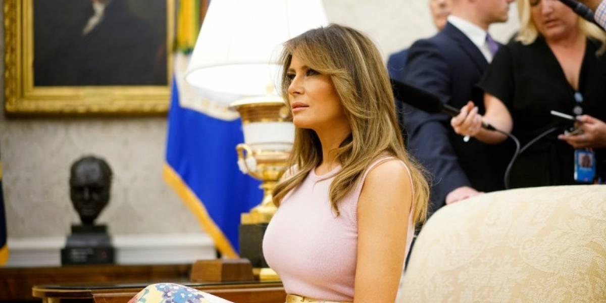 """Melania Trump dice ser la persona """"más acosada del mundo"""""""