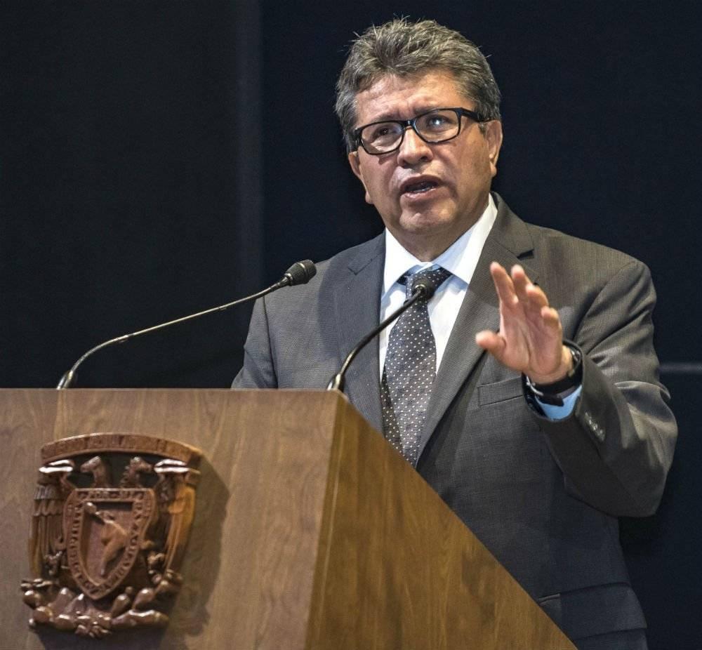 El ahora senador fue delegado de Cuauhtémoc. Foto: Cortesía