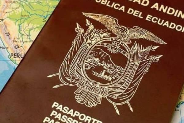 Pasaporte ecuatoriano