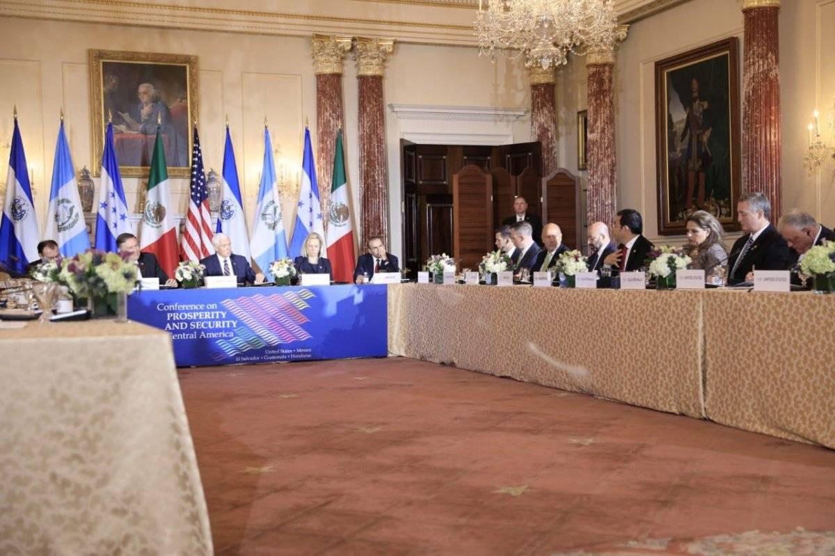 Conferencia para la Prosperidad y Seguridad en América Central