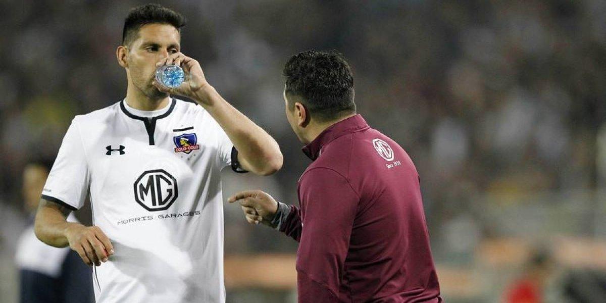 """Juan Manuel Insaurralde relativiza el mal empate albo ante Palestino: """"Creo que estuvimos bien"""""""