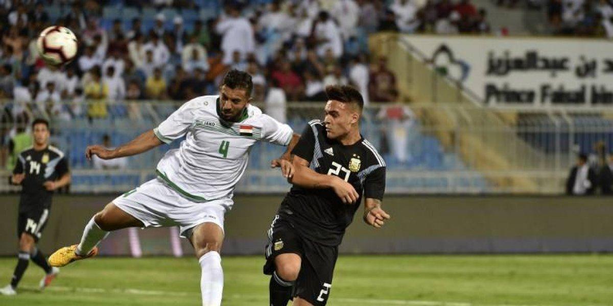 VIDEO. Sin Messi, Argentina golea a Irak y tiene en la mira a Brasil