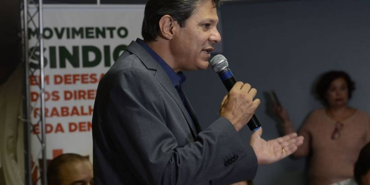 Para Haddad, Bolsonaro 'humilhou' beneficiários do Bolsa Família