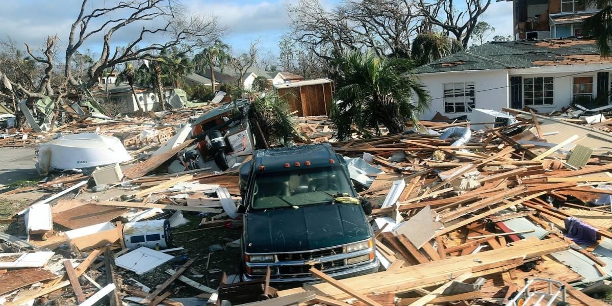 """Michael causa daños """"apocalípticos"""" en comunidad de Florida"""
