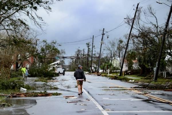 Devastación en Florida por el huracán Michael