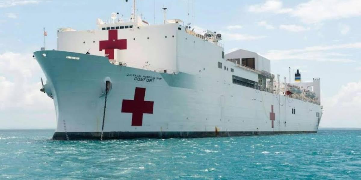 Buque hospital de Estados Unidos brindará atención médica en Esmeraldas