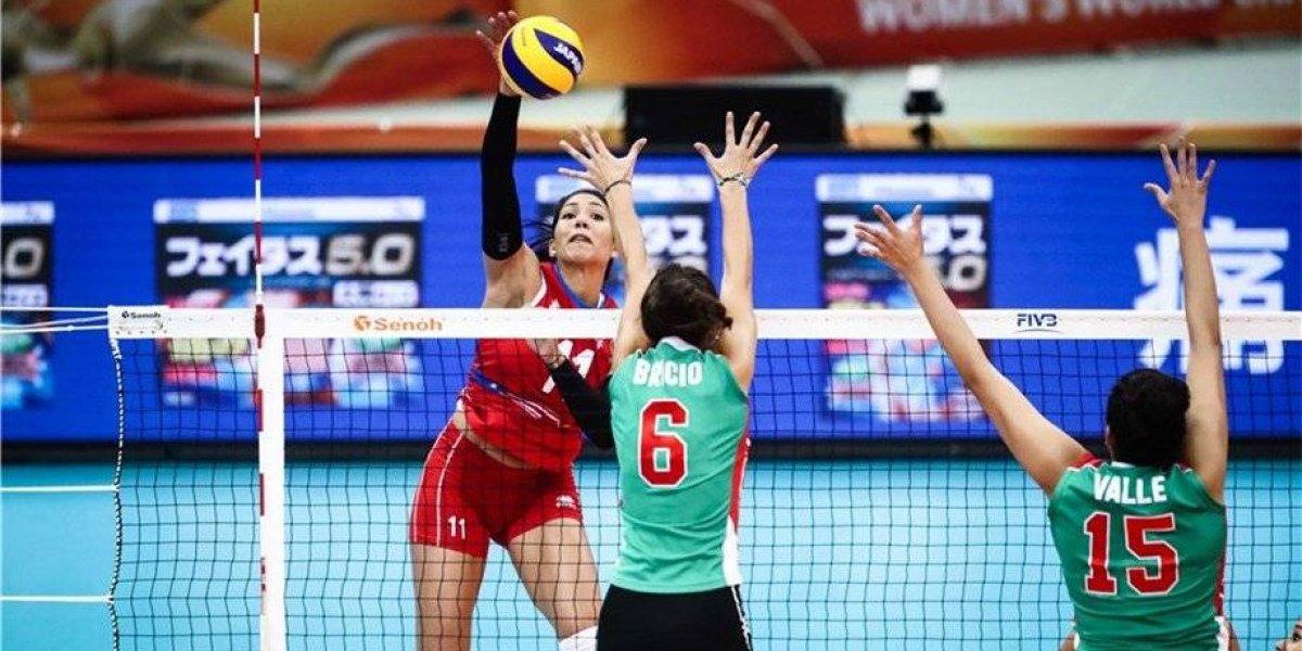 Voleibolistas mexicanas tuvieron gran aprendizaje del Mundial