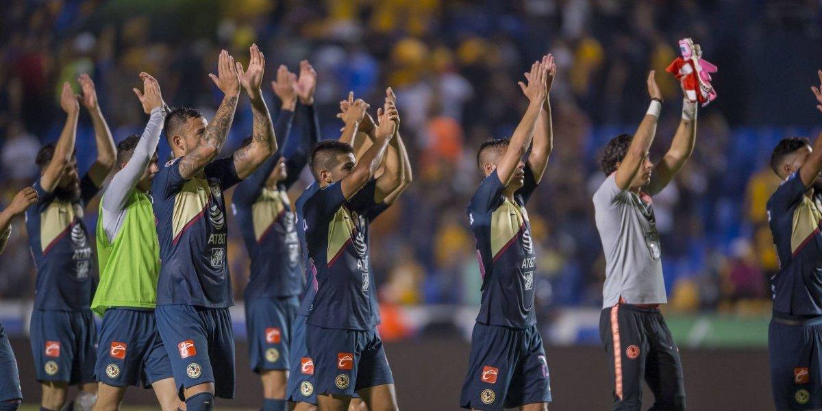 América, festejado por los equipos de la Liga MX