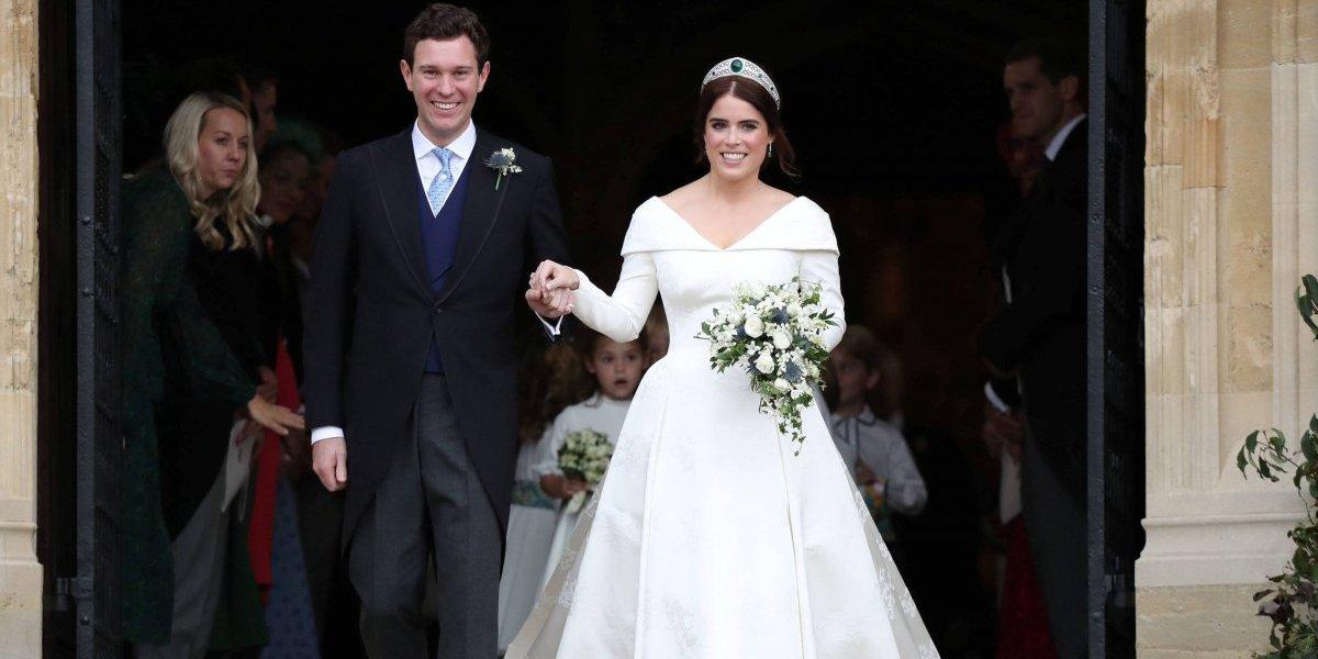 Princesa Eugenie e Jack Brooksbank se casam em Londres