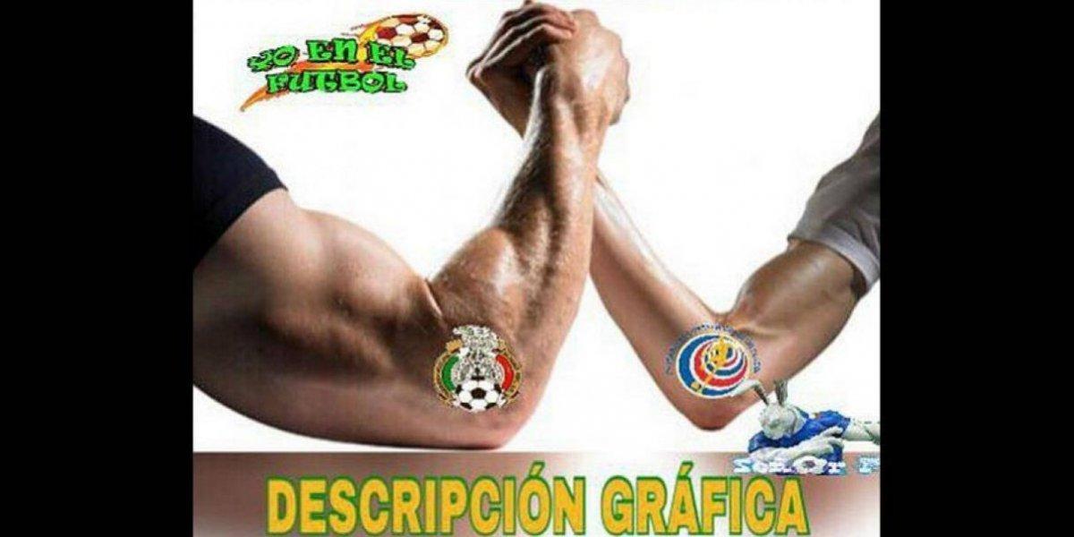 Los mejores memes del triunfo de México ante Costa Rica