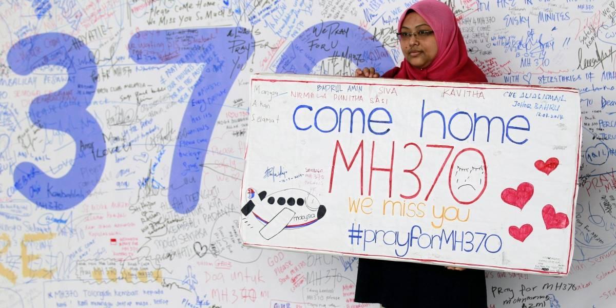 ¿Aparecieron restos del avión MH370 en Google Maps?
