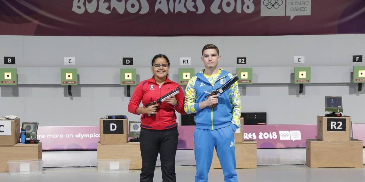 Tiro deportivo le da su cuarto Bronce a México en Buenos Aires 2018