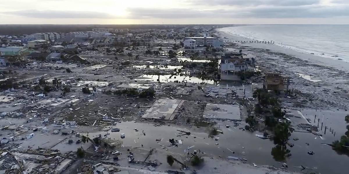 El huracán más poderoso de EEUU en 50 años: Michael cobró al menos 13 vidas y continúa causando estragos como tormenta tropical