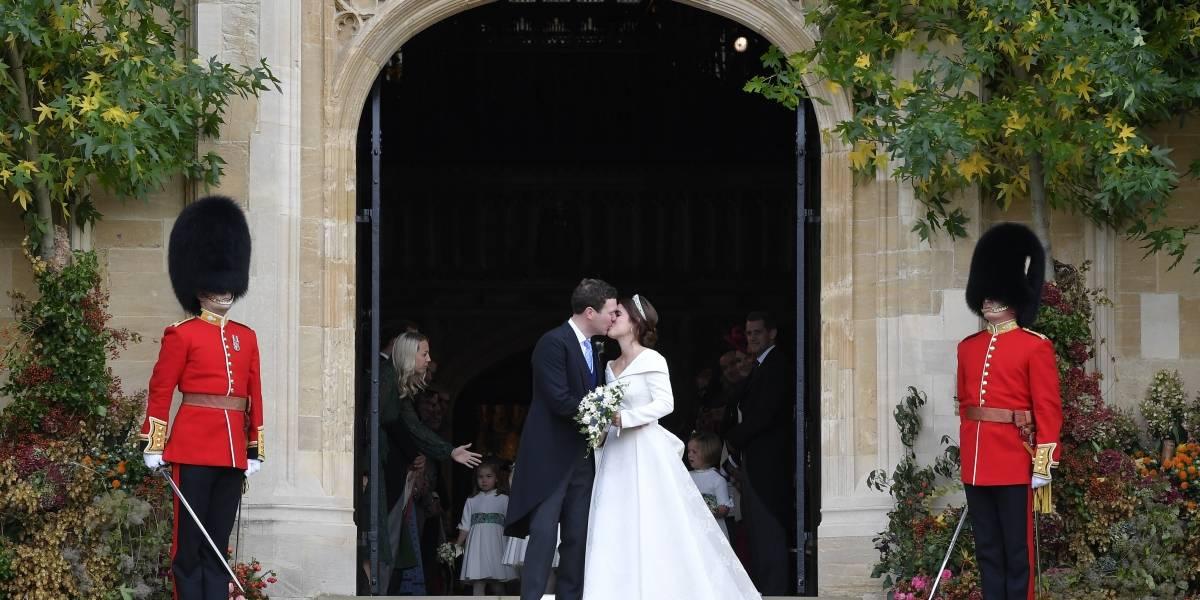 Vuelven a sonar las campanas en la monarquía británica: así fue la boda de la princesa Eugenia