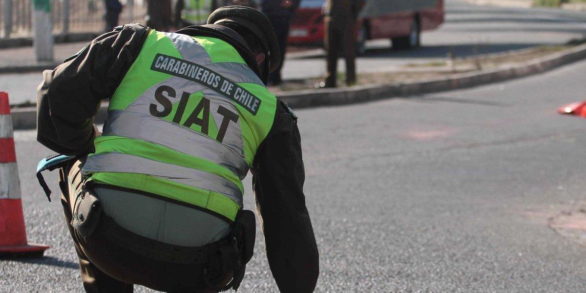 Conductor del Transantiago muere aplastado mientras orinaba entre dos buses