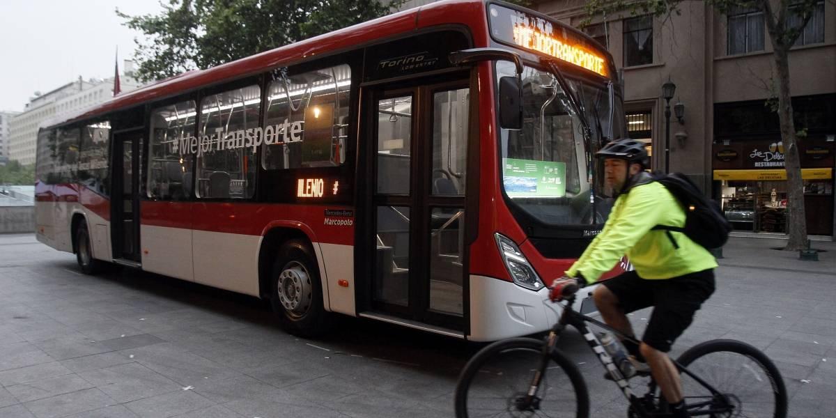 Así funcionará el servicio de Wifi gratuito en los nuevos buses del Transantiago