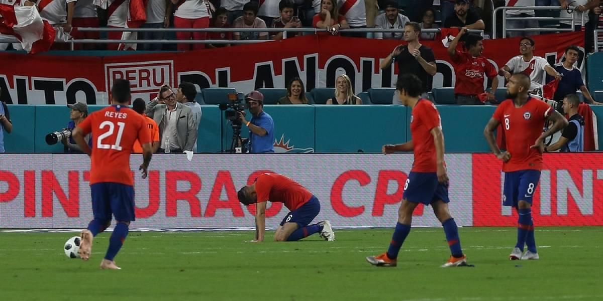 Uno a uno de Chile ante Perú en Miami: Un equipo totalmente superado y perdido en todas las facetas