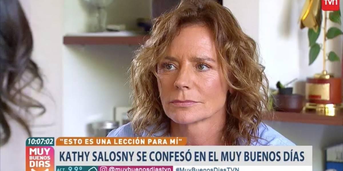 """Katherine Salosny rompe el silencio y pide disculpas públicas: """"Siento rabia conmigo"""""""