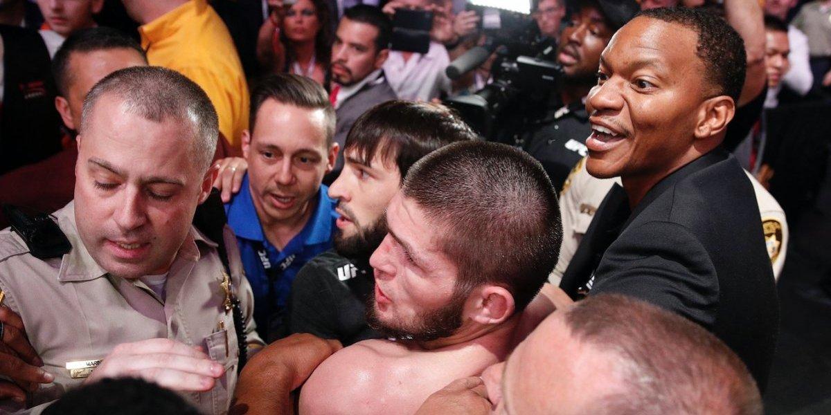 Khabib y McGregor reciben primera sanción por su escándalo en la UFC