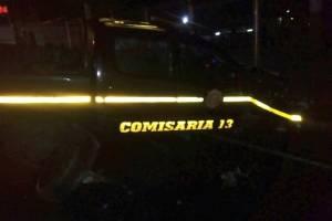 choque de patrulla de PNC en Km. 25 al Salvador