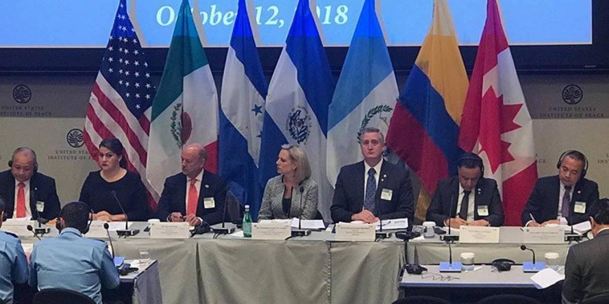 Continúa la conferencia entre EEUU y Centroamérica, hoy el tema son los traficantes de migrantes