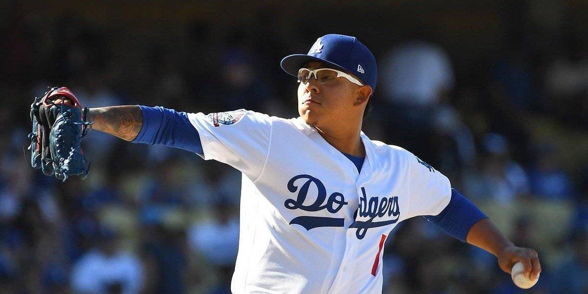 Dodgers incluye en su roster a Julio Urías