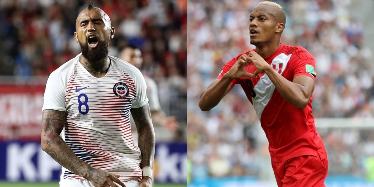 Chile vs. Perú: Choque sudamericano nada amistoso