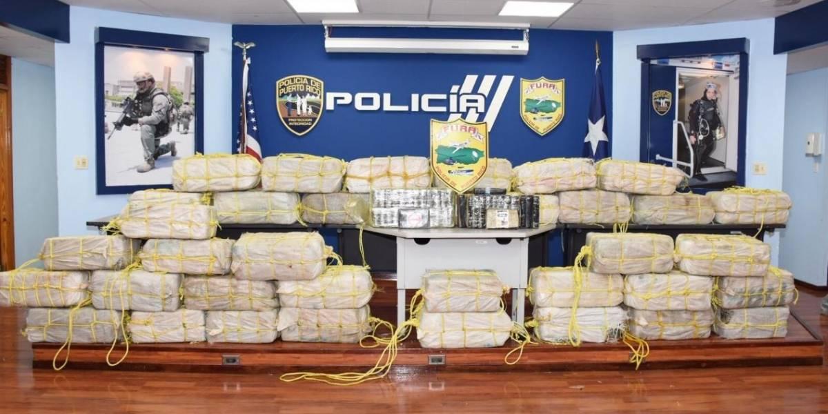 Autoridades ocupan 38 fardos de droga en Ponce