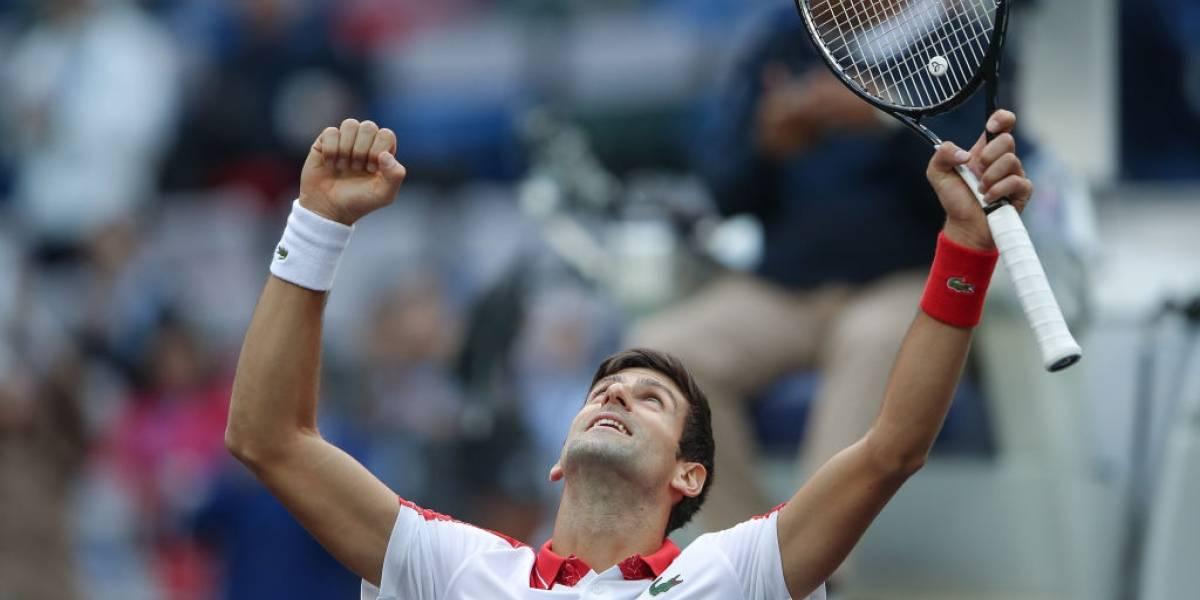 Novak Djokovic sigue intratable y avanzó a semifinales del Masters 1000 de Shanghai