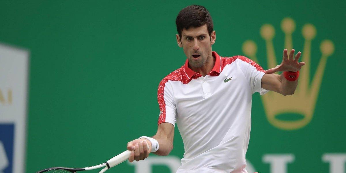 Novak Djokovic, semifinalista del Masters 1000 de Shanghái